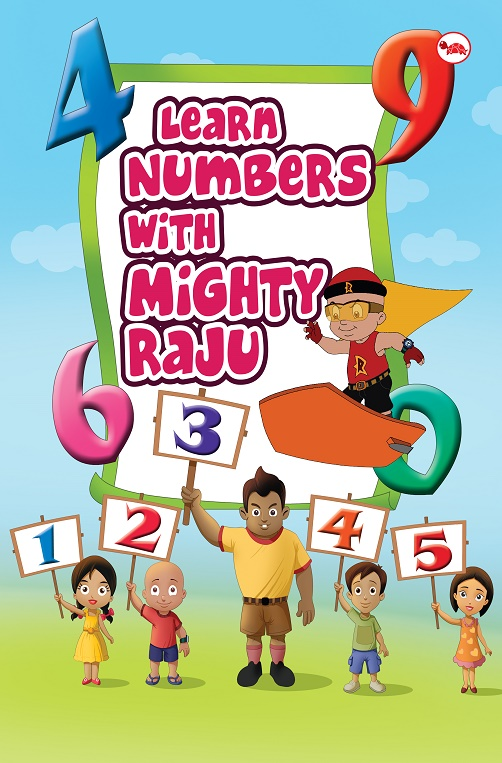 Learn Numbers with Mighty Raju_Cover