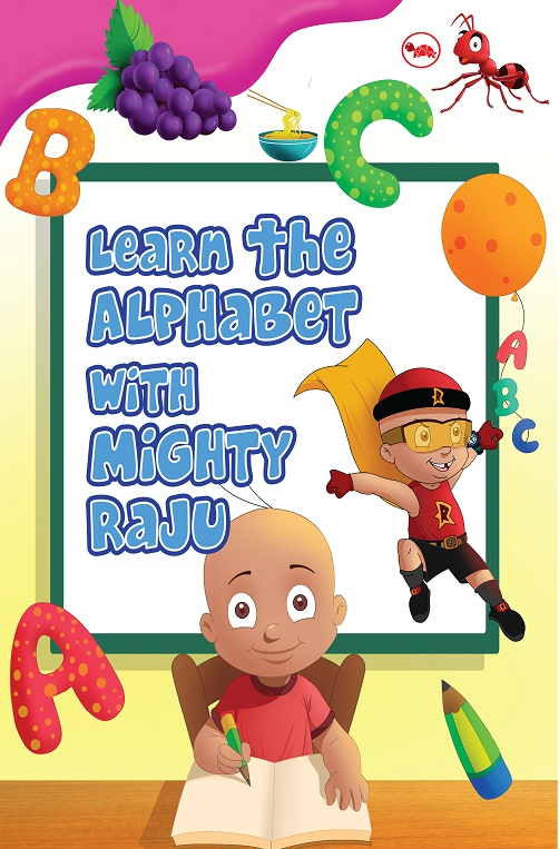 Mighty Raju Alphabet Book_Cover