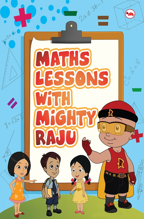Math Lessons with Mighty Raju_Cover