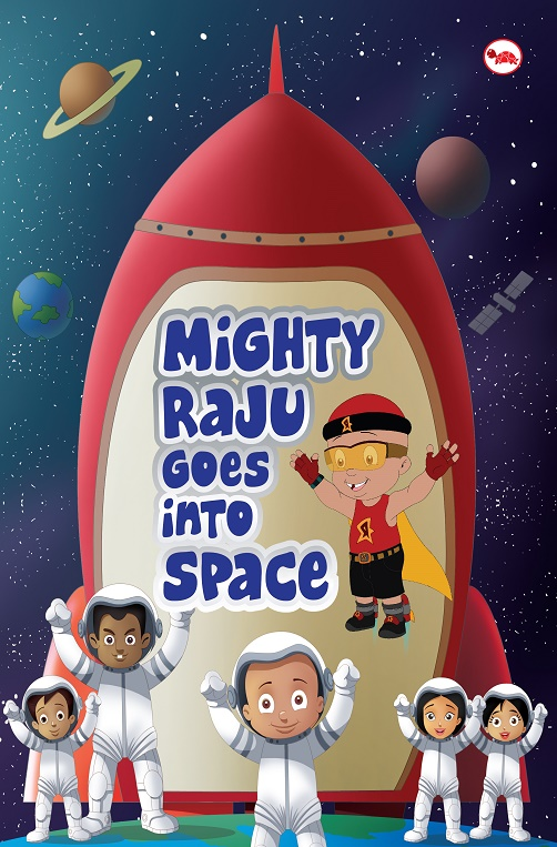 Mighty Raju into the Space_Cover