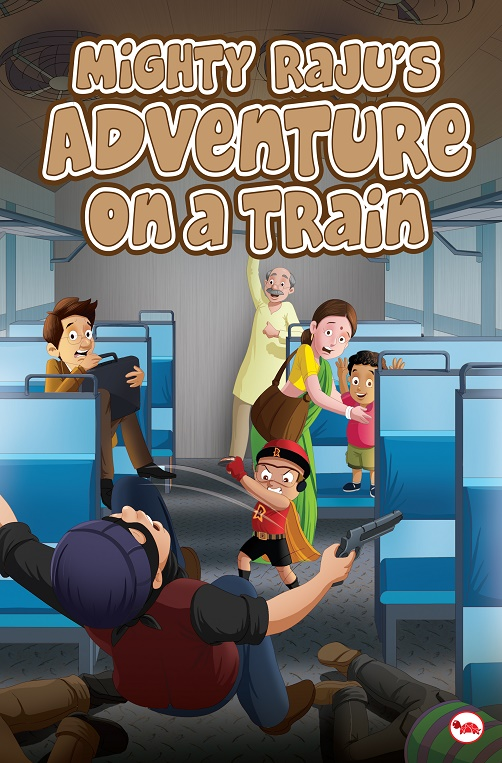 Mighty RajuGÇÖs adventure in train_Cover