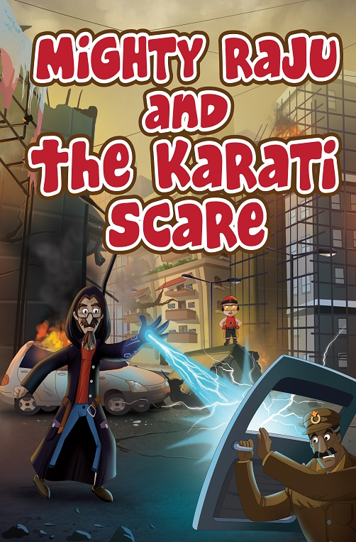 Mighty raju and the Karati scare_16